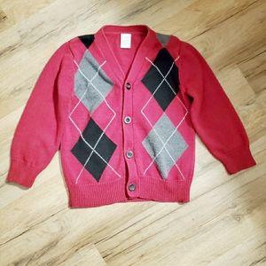 🎃 3/$15 Gymboree boys sweater size 3-4 xs